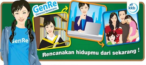 Generai Berencana (GenRe) Menuju Generasi Emas Indonesia